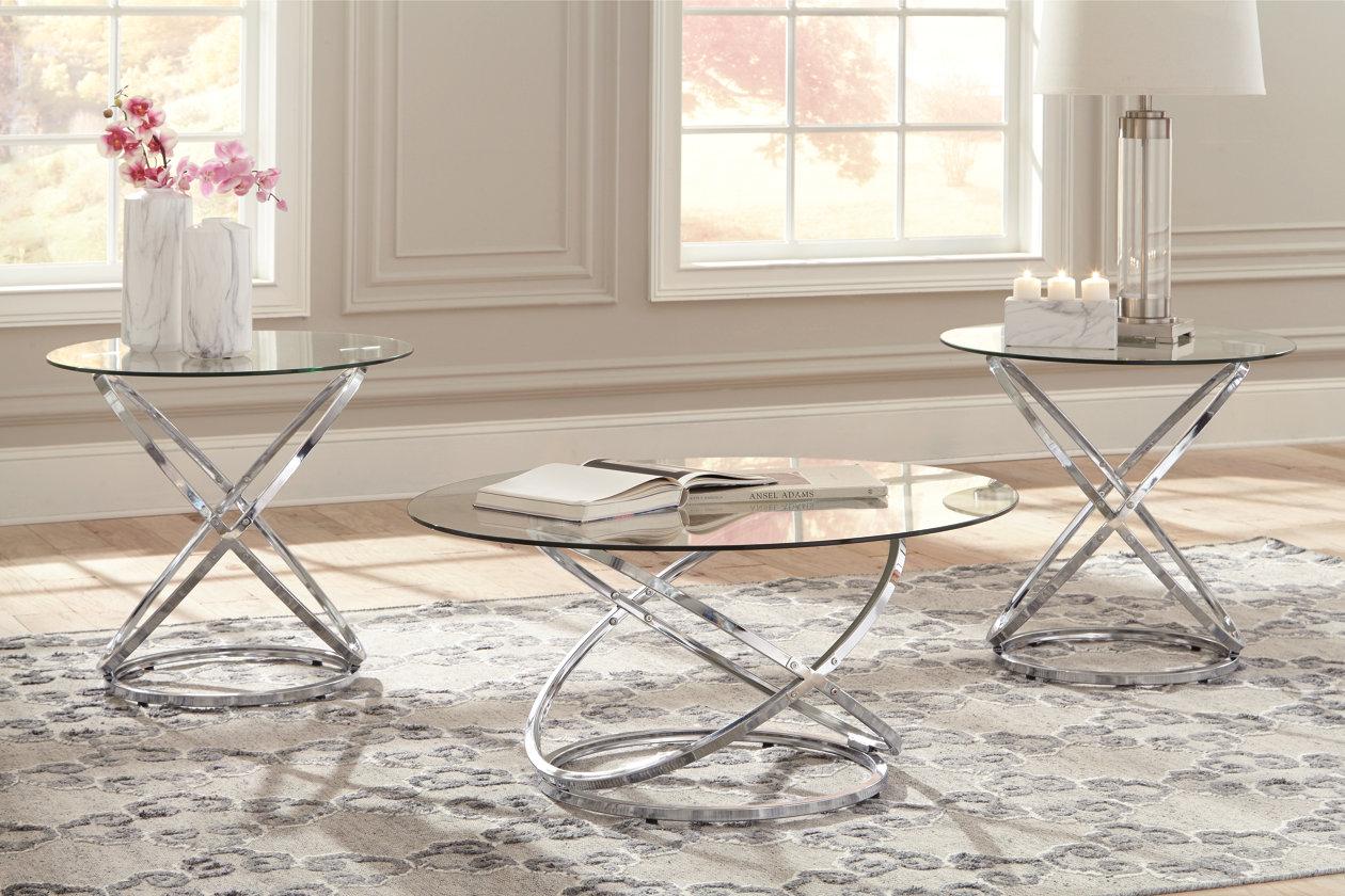 Hollynyx Table Set Of 3 Ashley Furniture Homestore