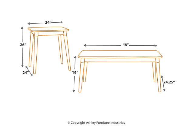Neilmond Table (Set of 3), , large