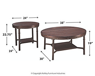 Sandling Table (Set of 3), , large