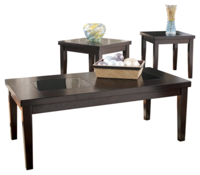 Denja Table Set of 3Ashley Furniture HomeStore