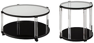 Delsiny Coffee Table with 1 End Table, , large