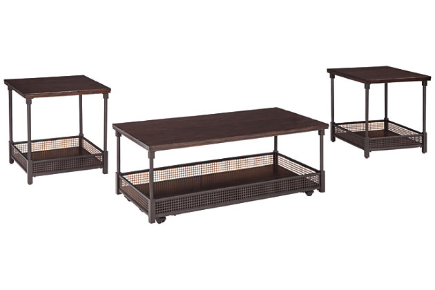 Kalmiski Table (Set of 3), , large