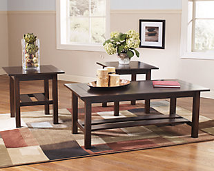 living room coffee table set.  large Lewis Table Set of 3 rollover Coffee Tables Ashley Furniture HomeStore