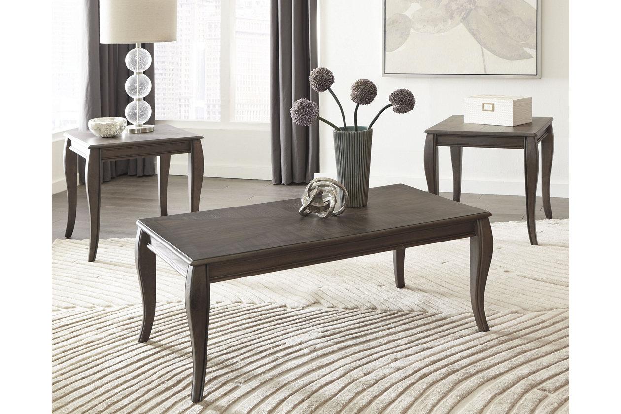 Pleasant Vintelli Table Set Of 3 Ashley Furniture Homestore Ibusinesslaw Wood Chair Design Ideas Ibusinesslaworg