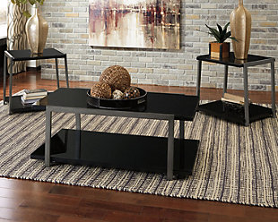large Rollynx Table Set of 3 rollover Coffee Tables Ashley Furniture HomeStore
