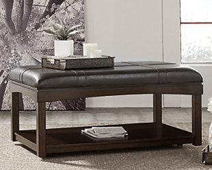 Haddigan Coffee Table Ottoman, , rollover