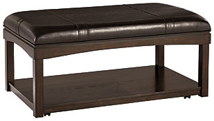 Haddigan Coffee Table Ottoman, , large