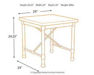 Minnona End Table, , large