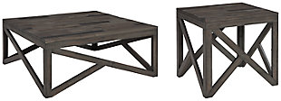 Haroflyn Coffee Table with 1 End Table, , large