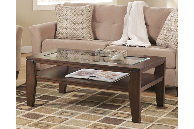 Deagan Coffee Table Ashley Furniture HomeStore - Rectangular cocktail table by ashley furniture
