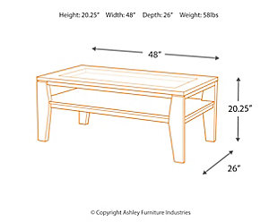 Deagan Coffee Table, , large