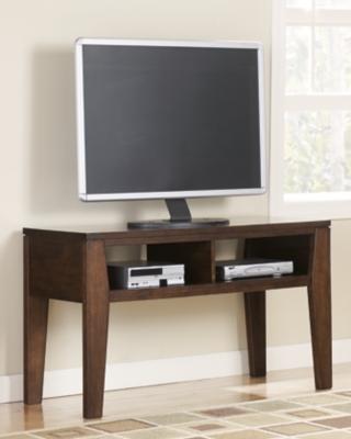 """Ashley Deagan 48"""" TV Stand, Dark Brown"""