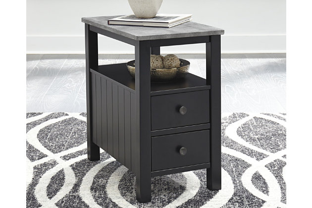 Ezmonei Chairside End Table, , large