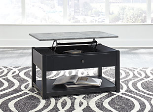 Ezmonei Coffee Table with Lift Top, , rollover