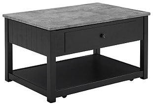 Ezmonei Coffee Table with Lift Top, , large