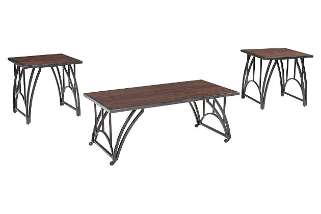 Barnallow Table (Set of 3), , large