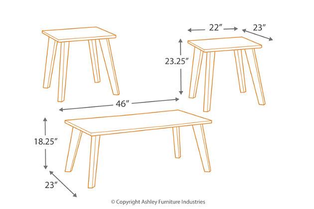 Golander Table (Set of 3), , large