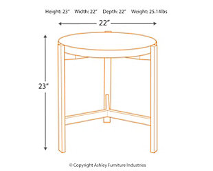 Franston End Table, , large