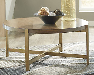 ... large Franston Coffee Table  rollover & Coffee Tables | Ashley Furniture HomeStore