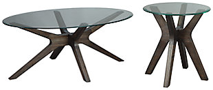 Zannory Coffee Table with 1 End Table, , large