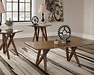 ... large Wixenton Table (Set of 3)  rollover & Coffee Tables   Ashley Furniture HomeStore