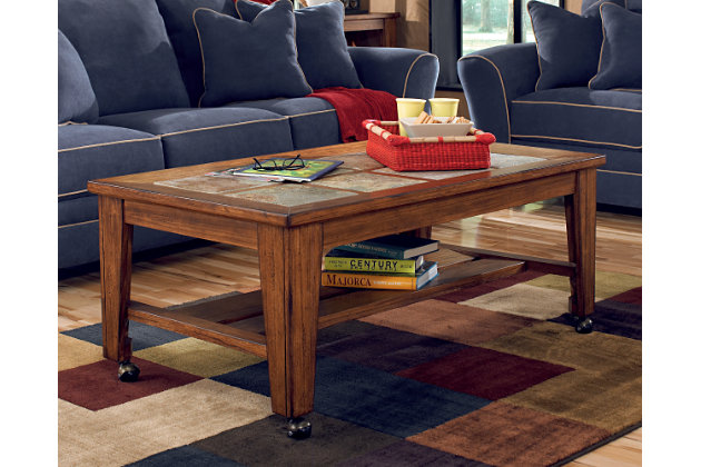 Toscana Coffee Table by Ashley HomeStore, Brown