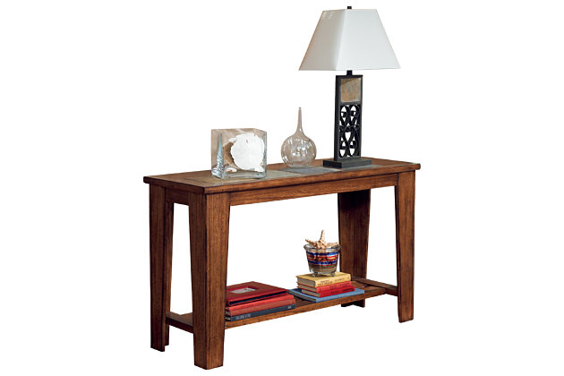 Toscana Sofa/Console Table by Ashley HomeStore, Brown