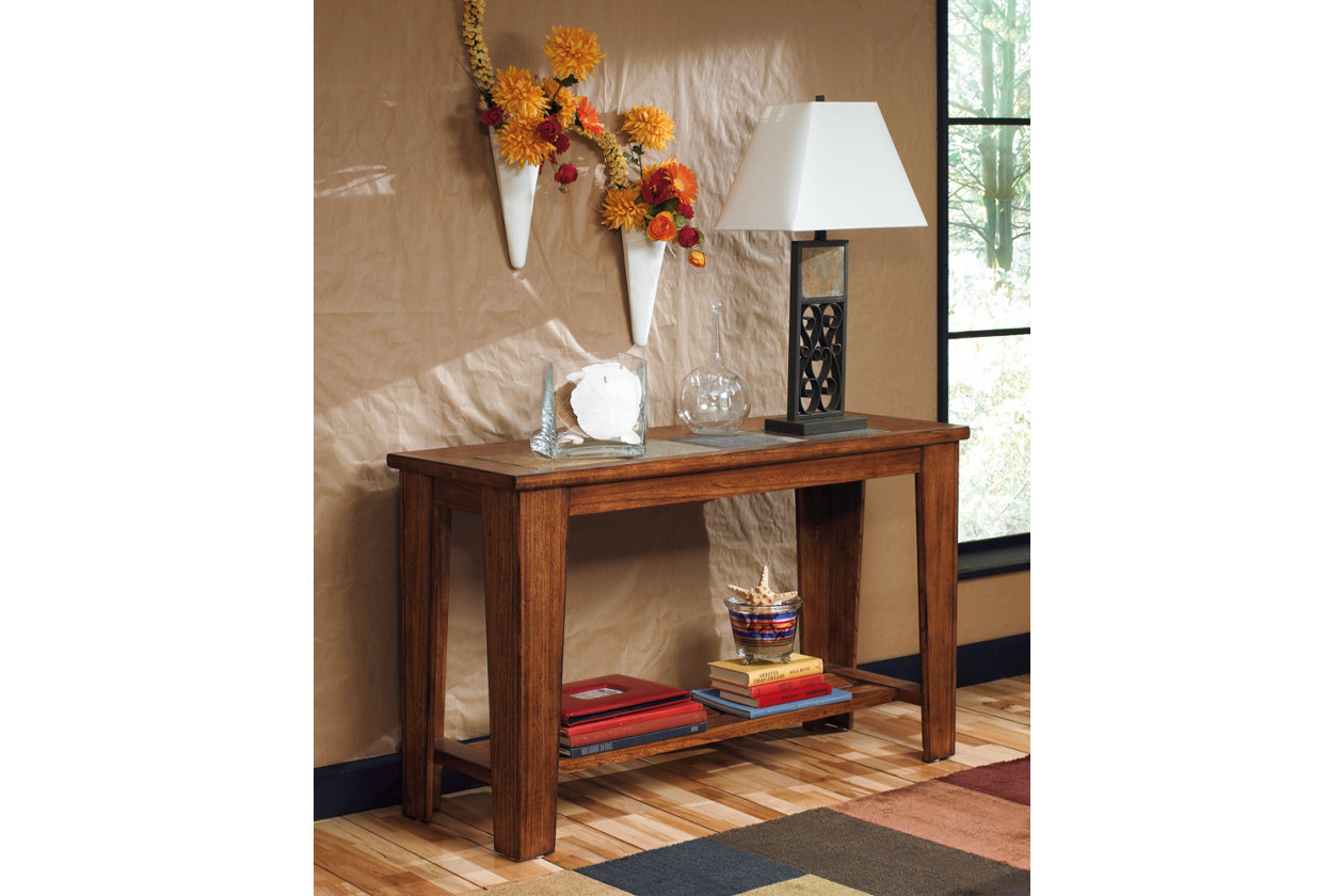 Toscana sofaconsole table ashley furniture homestore images toscana sofaconsole table geotapseo Gallery