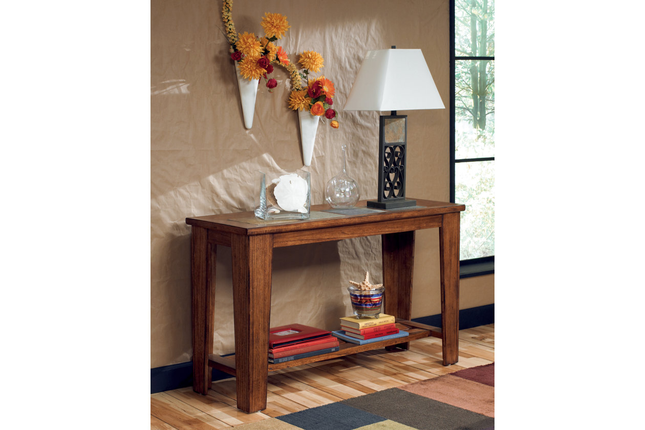 Toscana sofaconsole table ashley furniture homestore images toscana sofaconsole table geotapseo Image collections