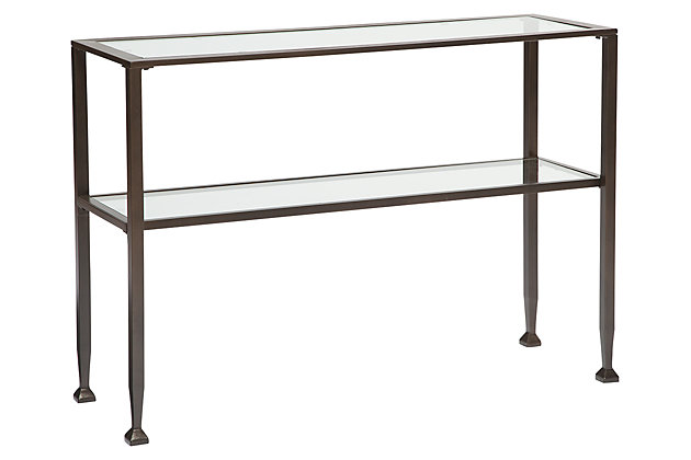 Tivion Sofa/Console Table by Ashley HomeStore, Bronze Finish