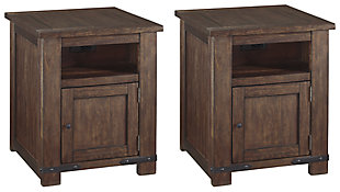 Budmore 2 End Tables, , large