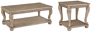 Kerston Coffee Table with 1 End Table, , large