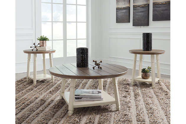 Bolanbrook Table Set Of 3 Ashley Furniture Homestore