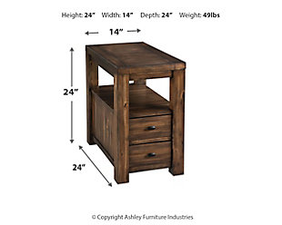 Marleza Chairside End Table, , large