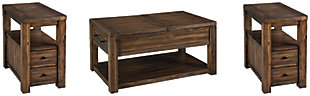 Marleza Coffee Table with 2 End Tables, , large