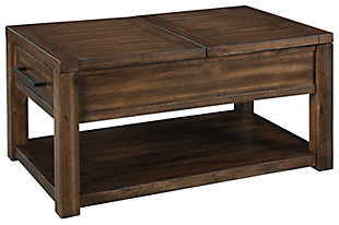 Marleza Coffee Table with Lift Top, , large