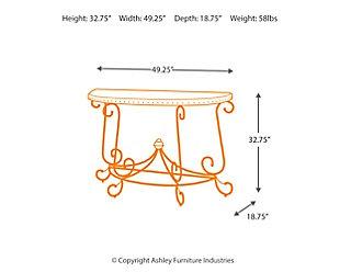 Rafferty Sofa/Console Table, , large
