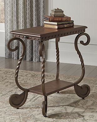Rafferty Chairside End Table, , rollover