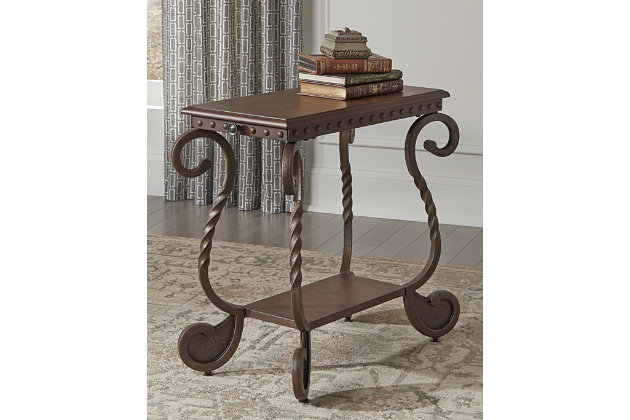 Rafferty Chairside End Table, , large