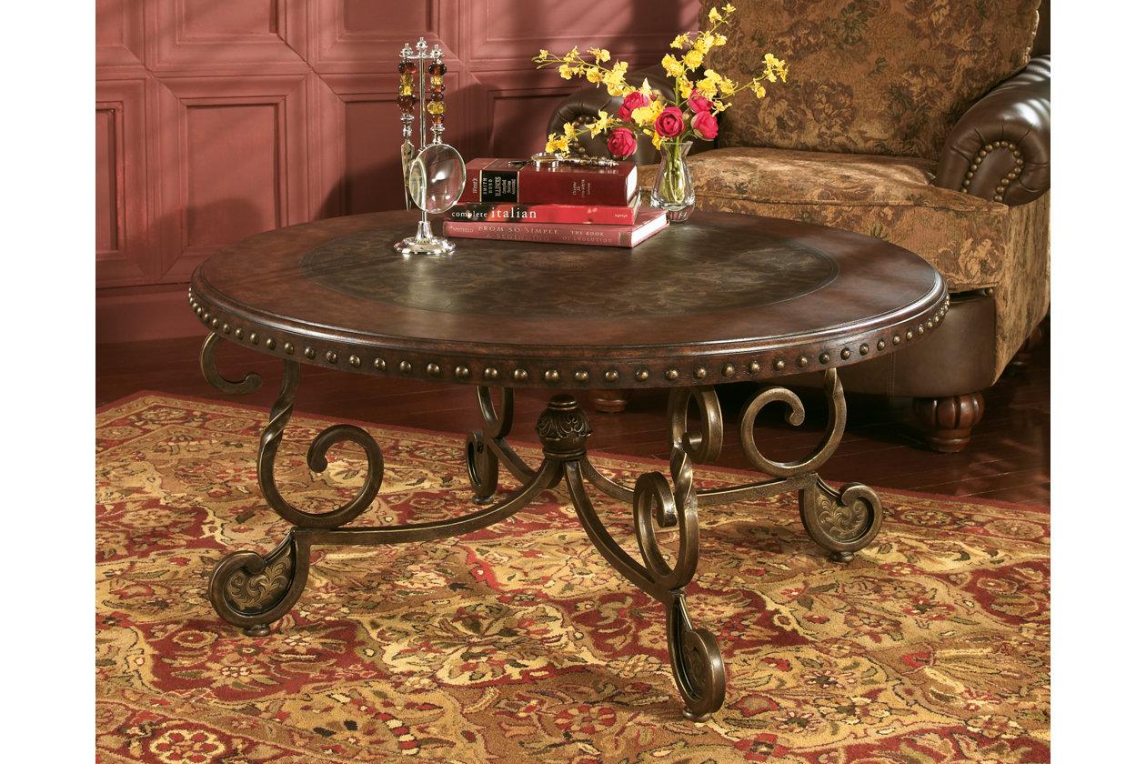 Rafferty coffee table ashley furniture homestore images rafferty coffee table geotapseo Image collections