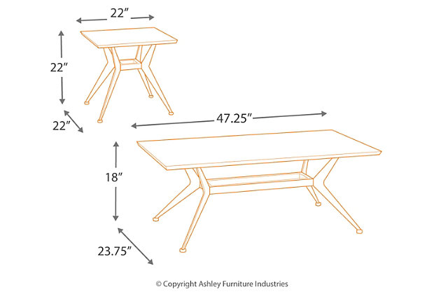 Liamburg Table (Set of 3), , large