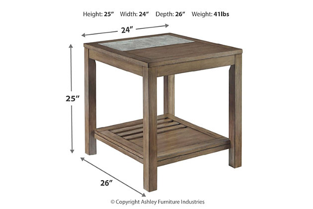 Deylin End Table, , large