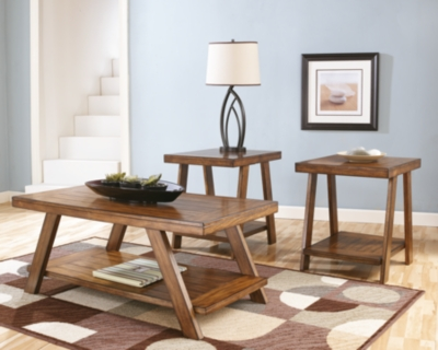Bradley Table Set of 3Ashley Furniture HomeStore