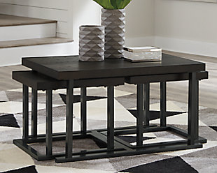 Airdon Coffee Table with Stools (Set of 3), , rollover