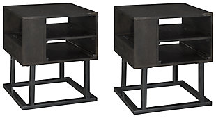 Airdon 2 End Tables, , large