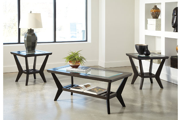 Lanquist Table Set Of 3 Ashley Furniture HomeStore