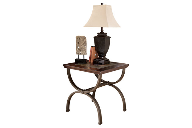 Zander End Table by Ashley HomeStore, Brown