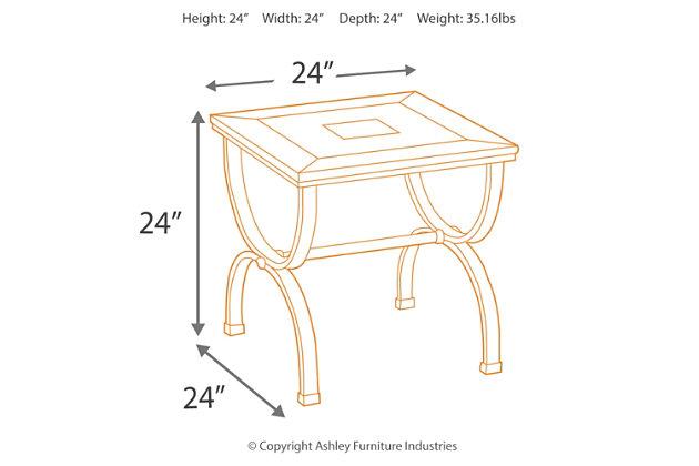 Zander End Table, , large