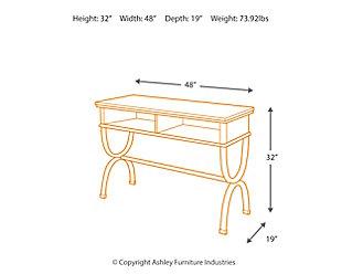Zander Sofa/Console Table, , large