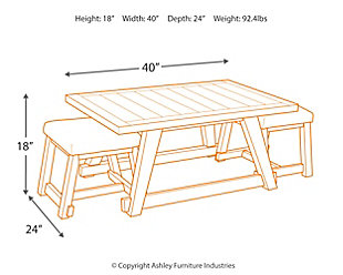 Harpoli Coffee Table, , large